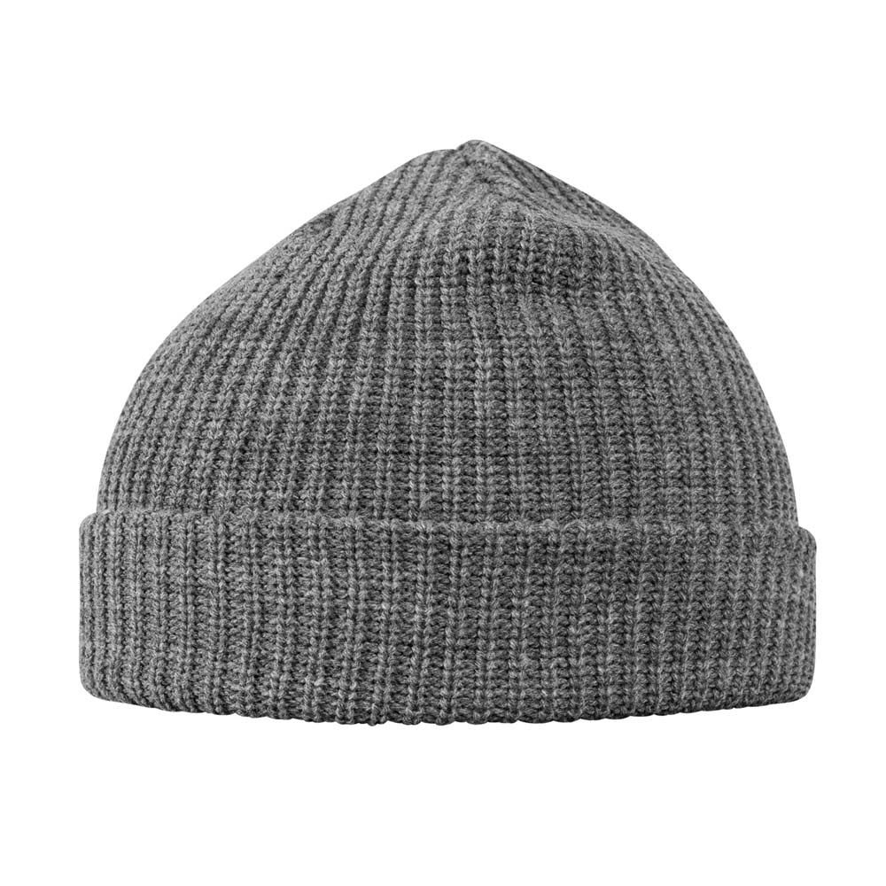 Capstore - Fisherman Beanie - Heather Grey