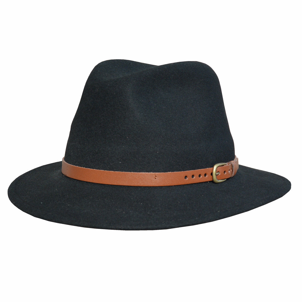 HZ - Hillstone Felt Hat - Black