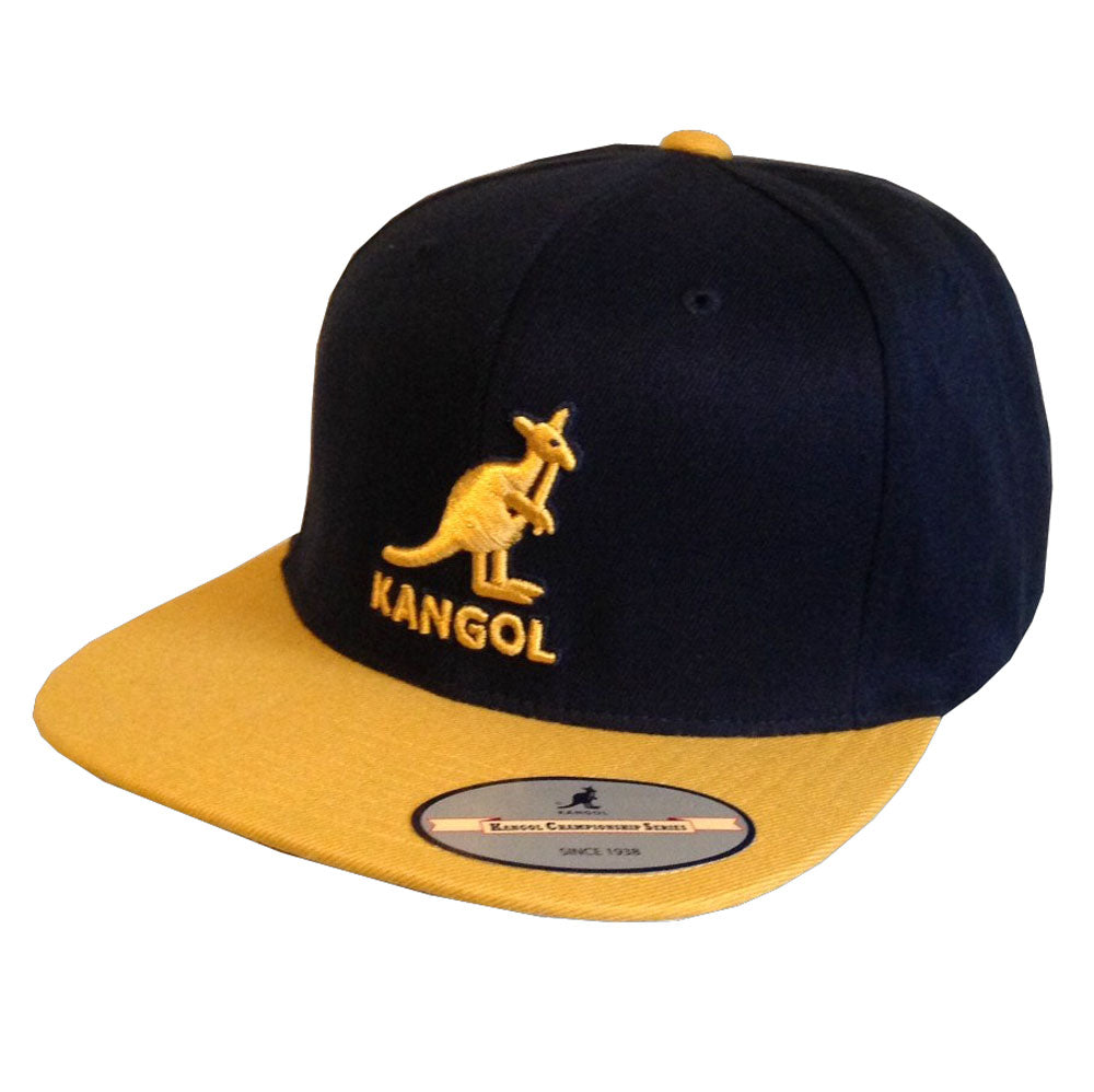 Kangol - Snapback - Dark Navy/Gold