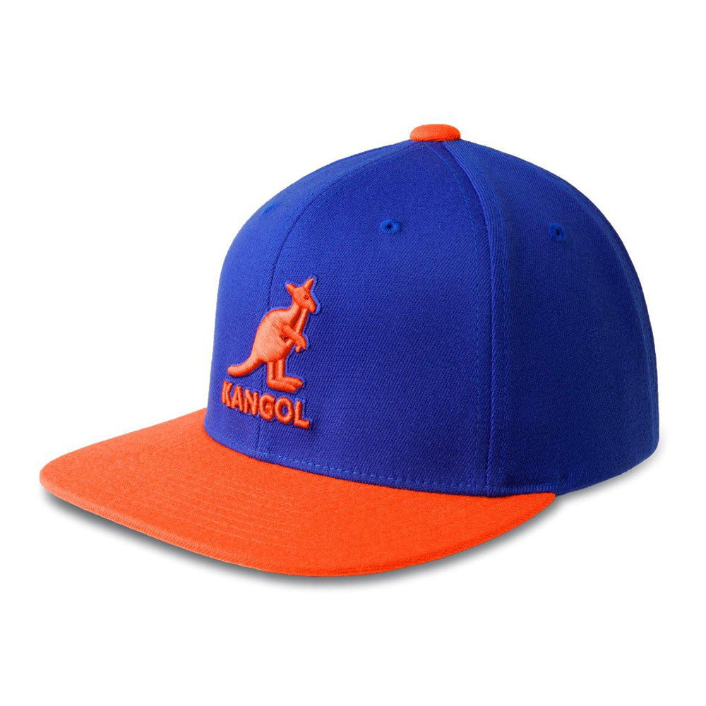 Kangol - Snapback - Royal/Orange