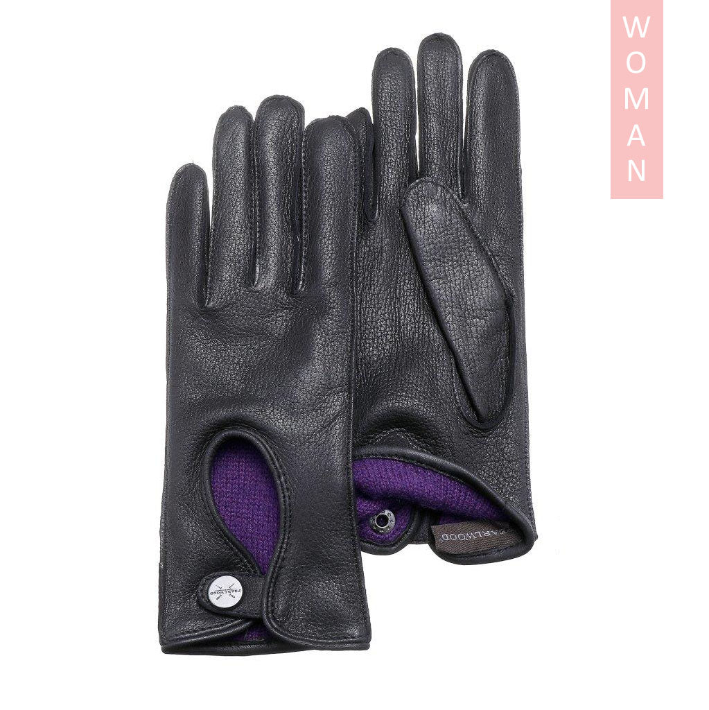 Pearlwood - Lola Lady Gloves - Black
