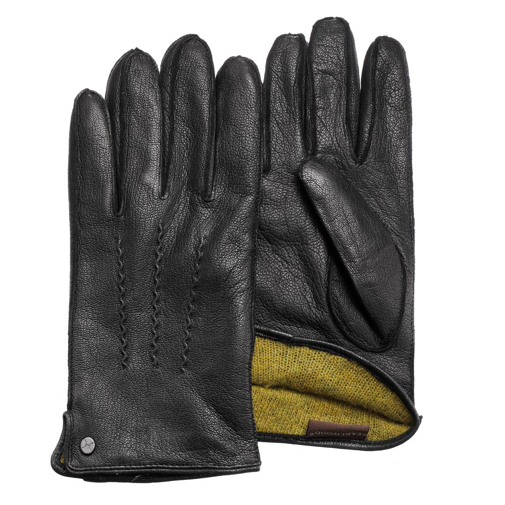 Pearlwood - Luke Leather Gloves - Black