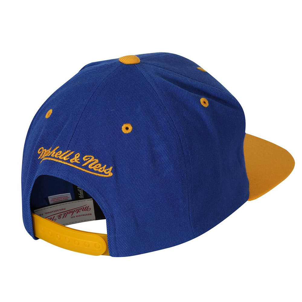 Mitchell & Ness - Golden State Warriors Snapback - Royal/Yellow