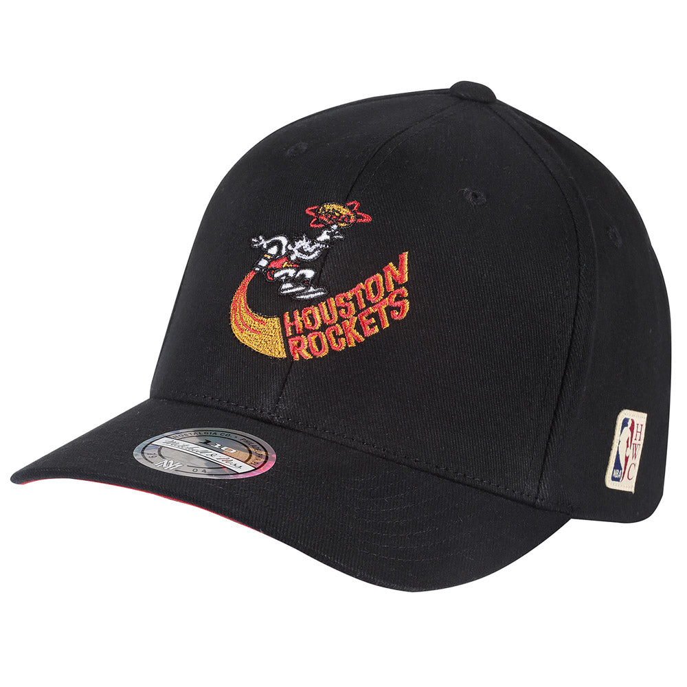 Mitchell & Ness - Houston Rockets Baseball Snapback - Black