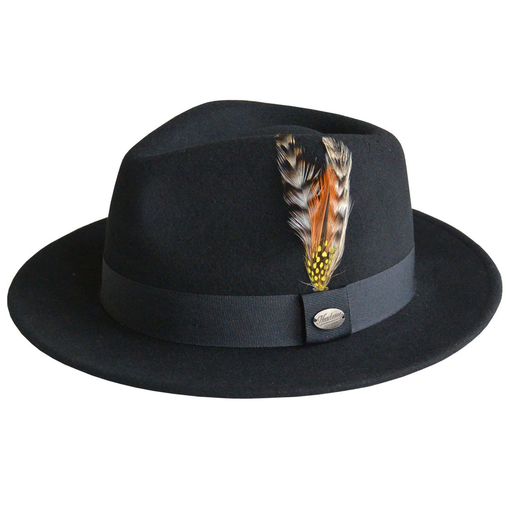 HZ - Martino Fedora Hat - Black