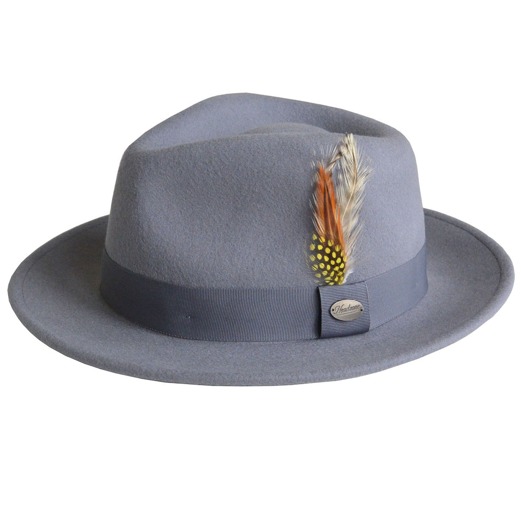 HZ - Martino Fedora Hat - Grey