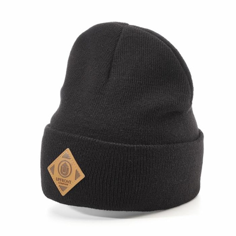 Upfront - Official UF Fold Beanie - Black