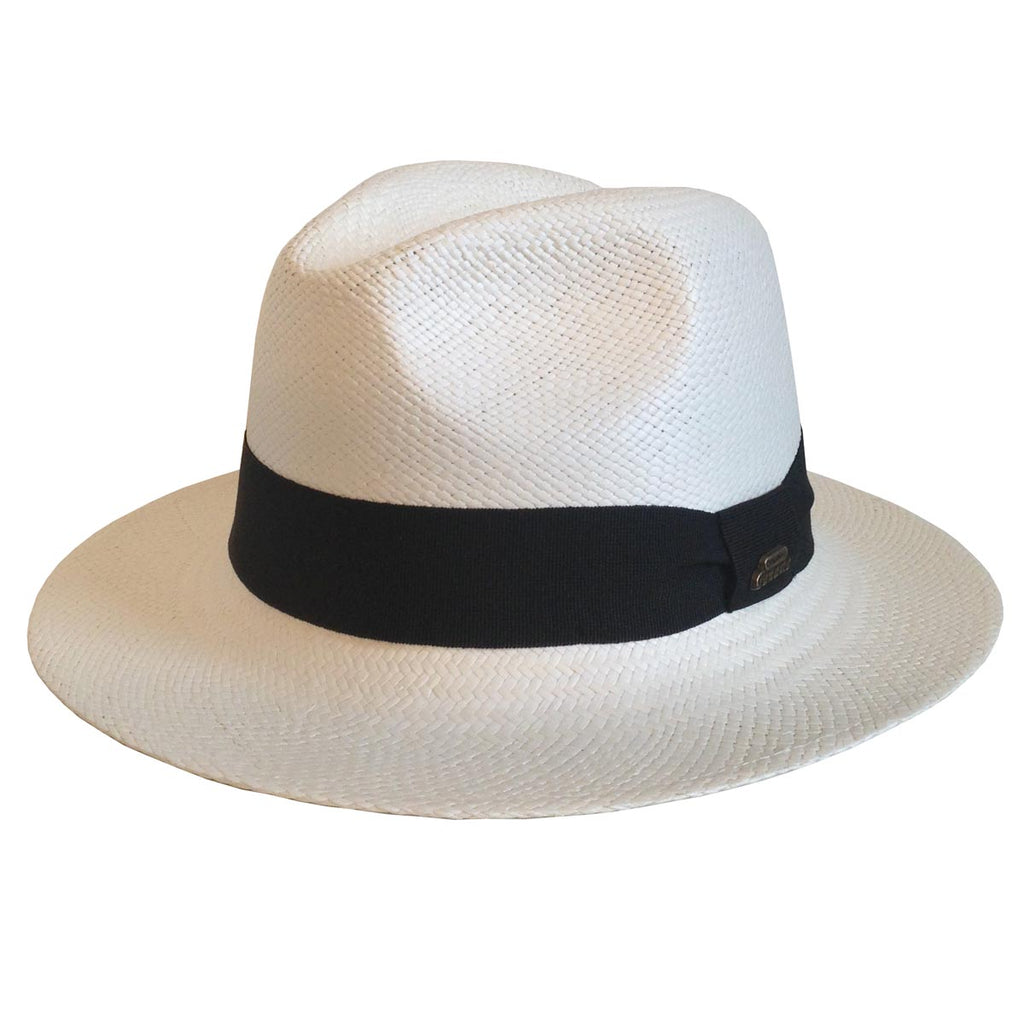 HZ - Panama Straw Hat - White