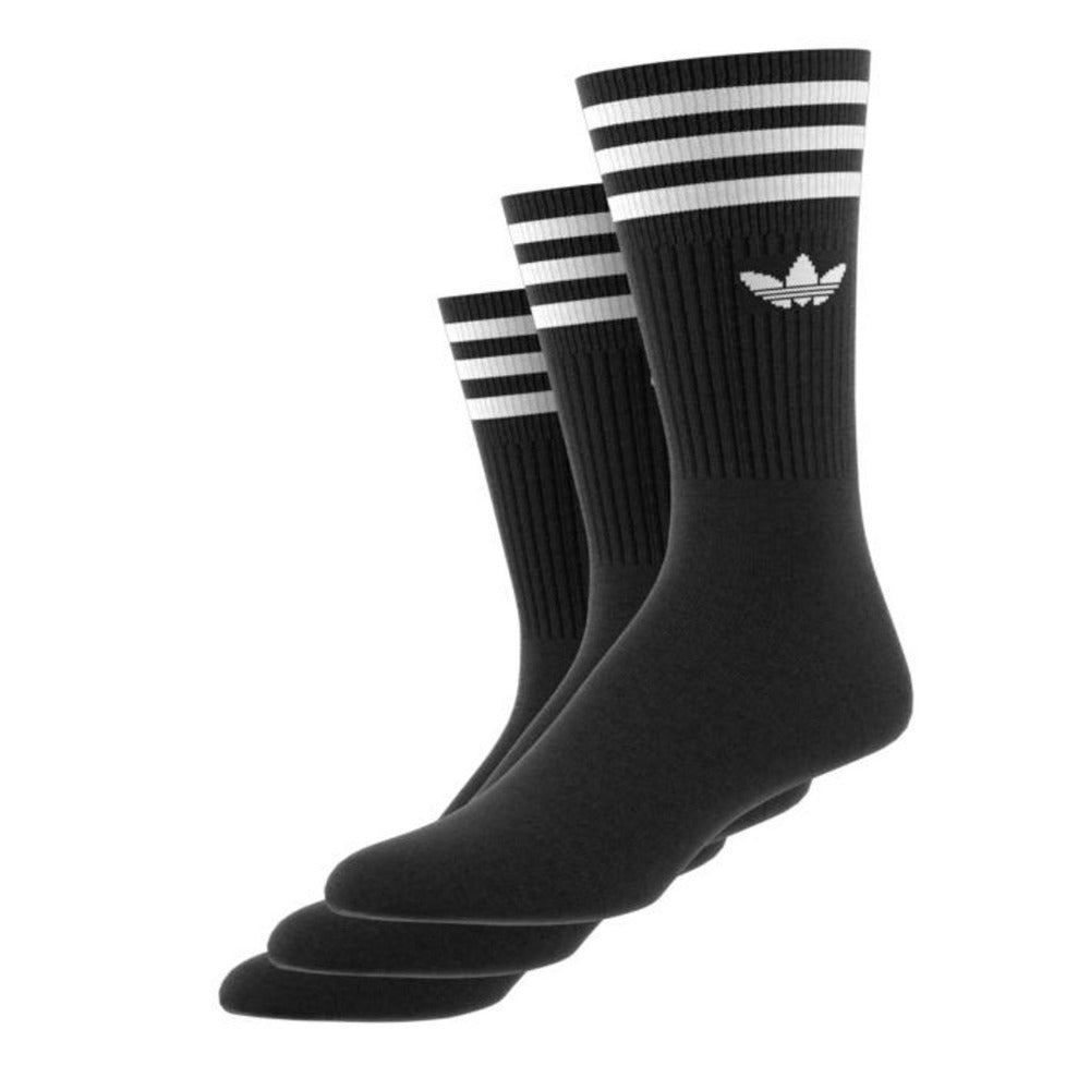 Adidas - Crew Sock (3 pack) - Black