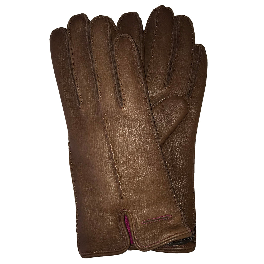 Pearlwood - Sally Lady Gloves - Brown