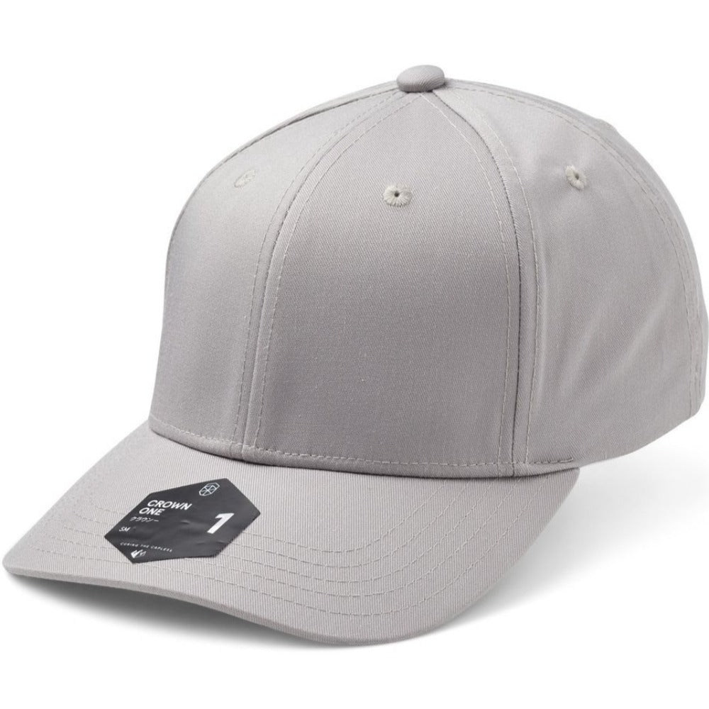 SOW - Crown 1 Baseball Cap - Silver
