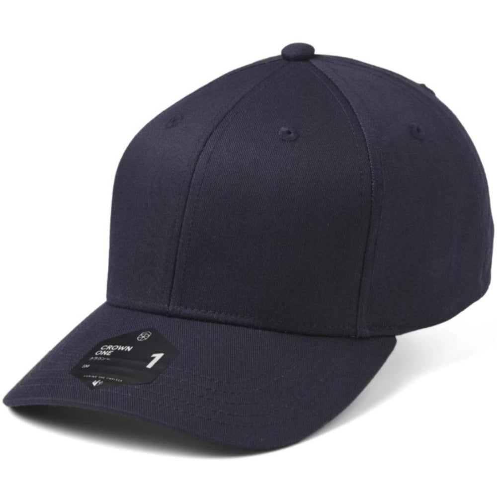SOW - Crown 1 Baseball Cap - Dark Navy