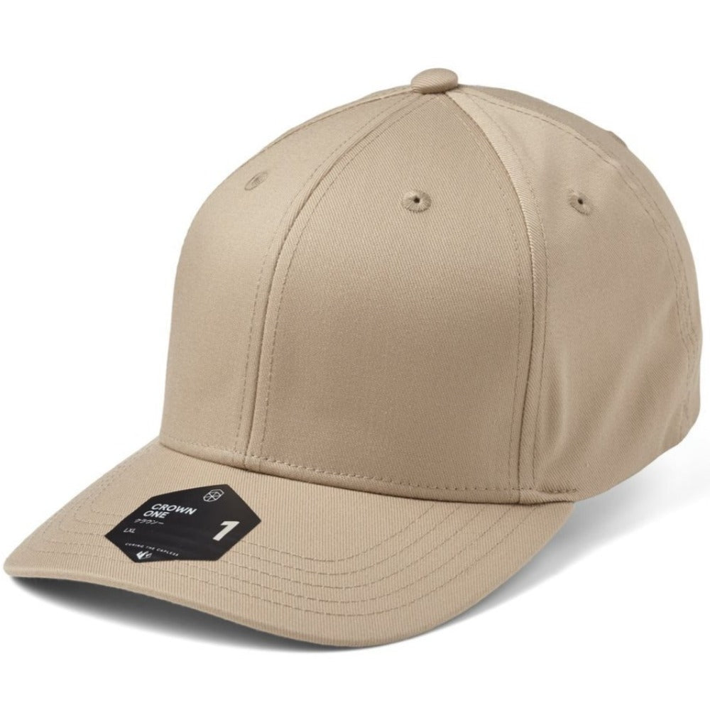 SOW - Crown 1 Baseball Cap - Khaki
