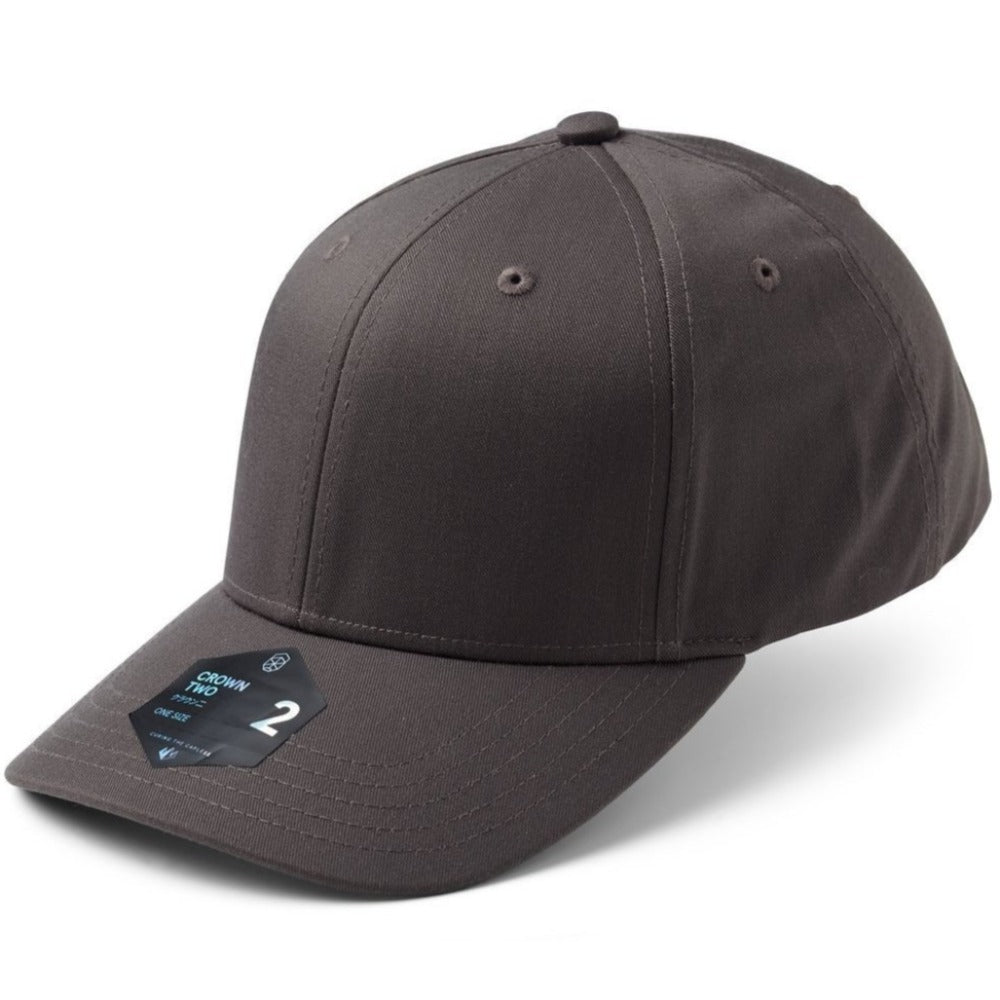 Crown 2 - Adjustable Cap - Dark Grey
