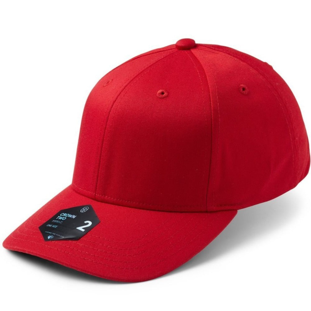 SOW - Crown 2 Adjustable Cap - Red