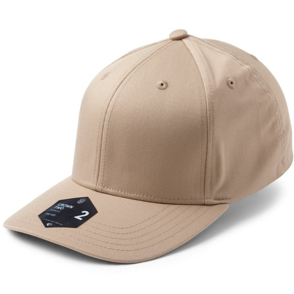 Crown 2 Adjustable Cap - Khaki