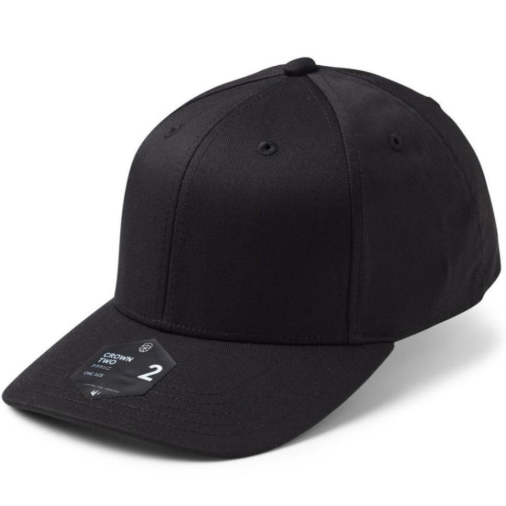 Crown 2 - Adjustable Cap - Black
