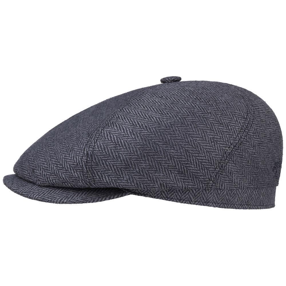 Stetson - 6-Panel Silk Sixpence - Dark Grey