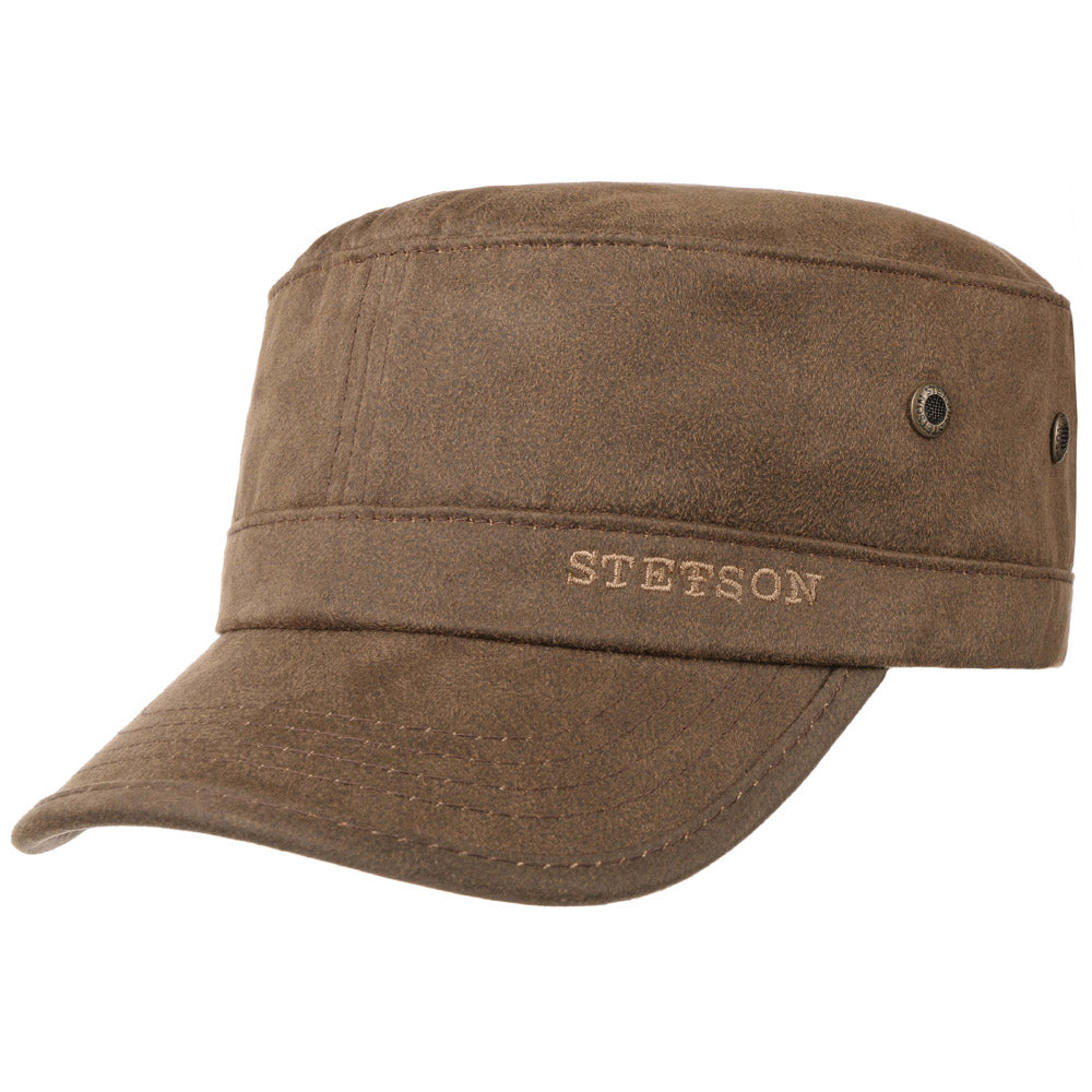 Stetson - Army Cap - Brown