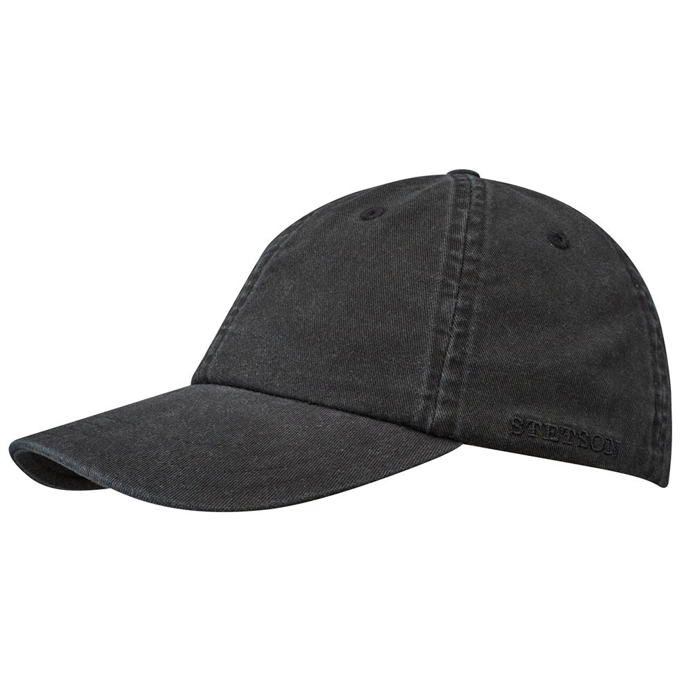 Stetson - Cotton Dad Cap - Black
