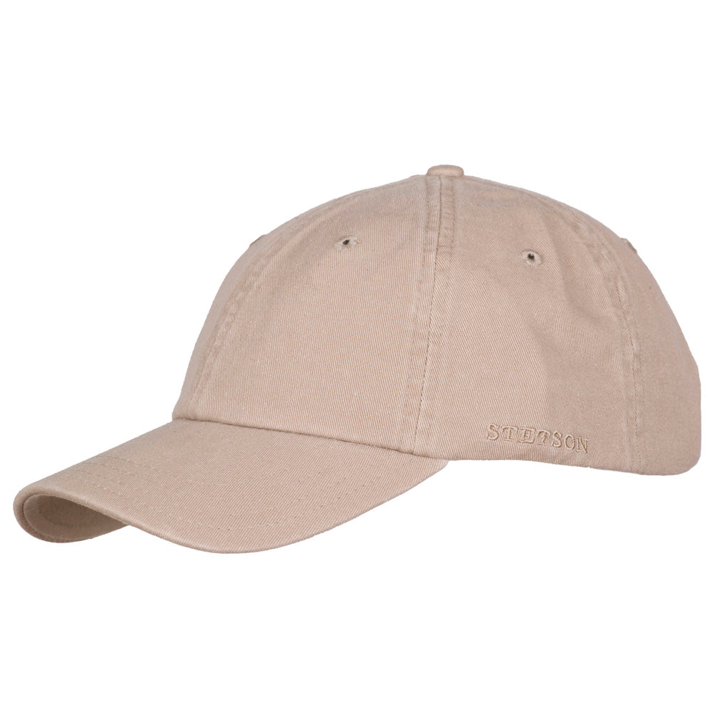 Stetson - Cotton Dad Cap - Khaki