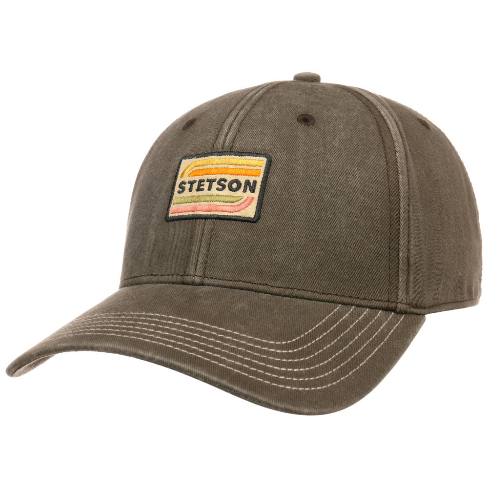 Stetson - Cotton Baseball Cap - Olive