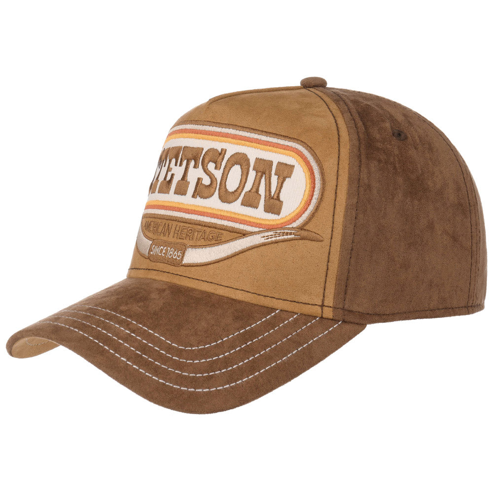 Stetson - Buffalo Horn Baseball Cap - Brown