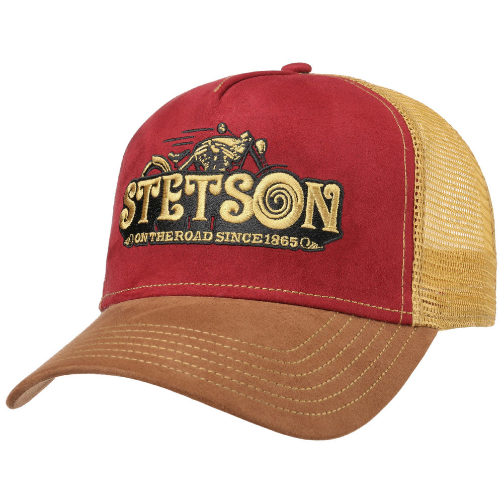 Stetson - On The Road Trucker Cap - Brown/Gold