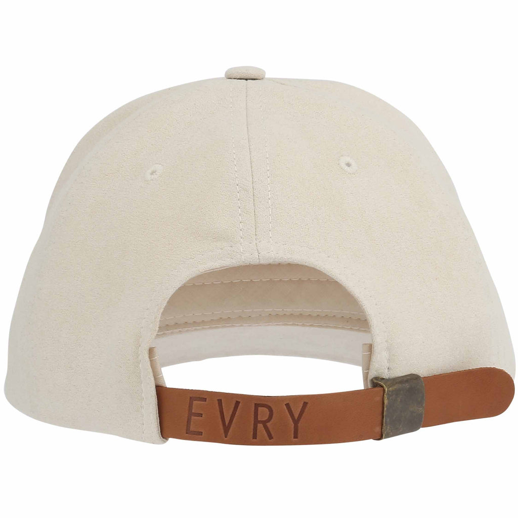 Evryday - Suede Baseball Cap - Off White