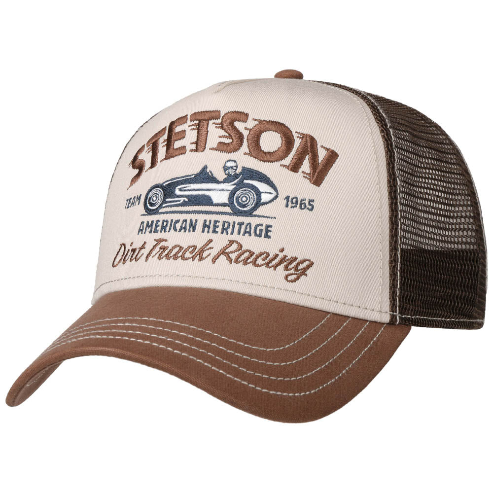 Stetson - Trucker Cap - Brown