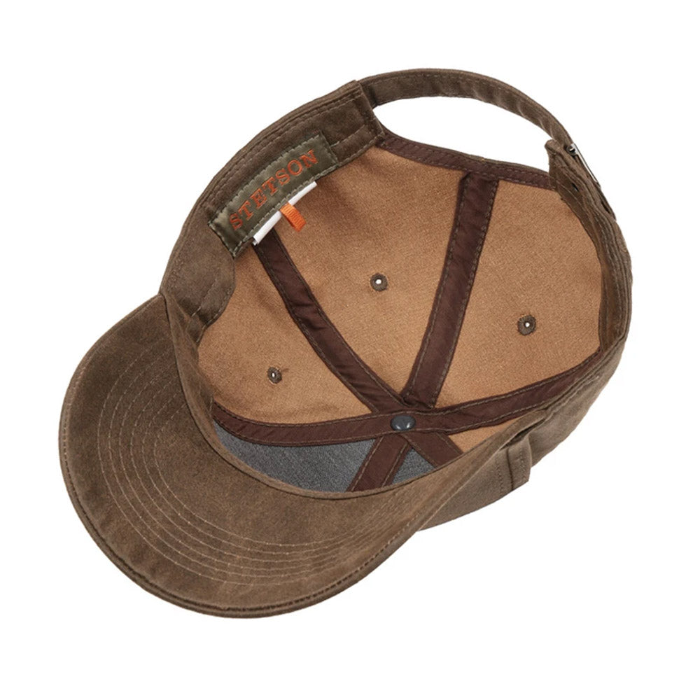 Stetson - Baseball Cap - Brown