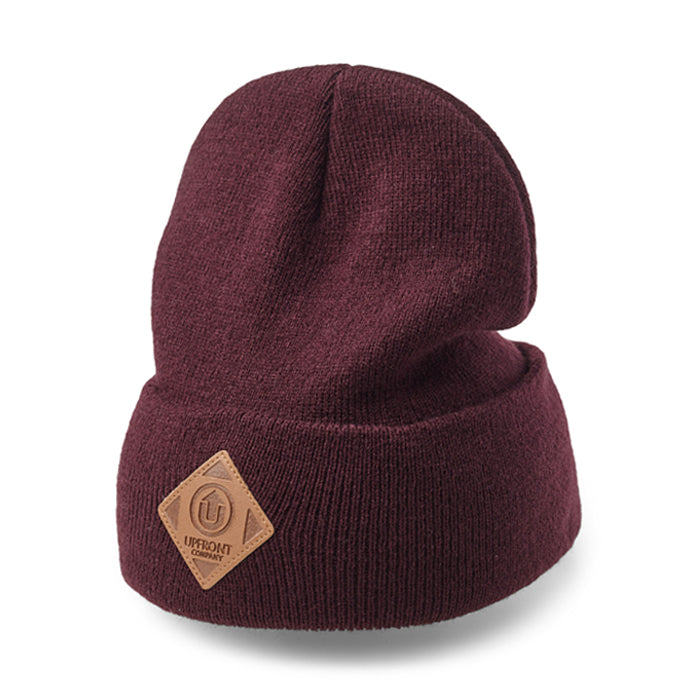 OFFICIAL UF Fold Beanie - Burgundy