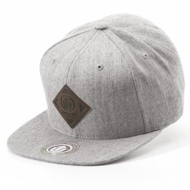 Upfront - Off Spring Snapback Cap - Heather Grey