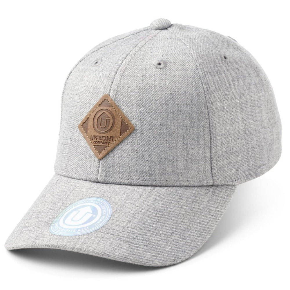 OFF Spring - Baseball Cap - Light Grey Melange