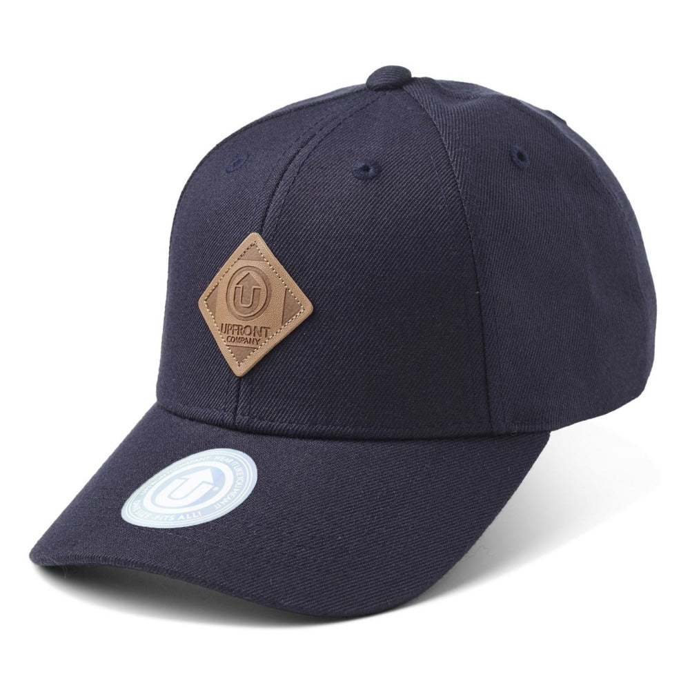 Upfront - Off Spring Baseball Cap - Navy/Brown