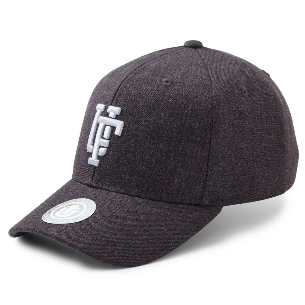 Upfront - Spinback Baseball Cap - Dark Grey