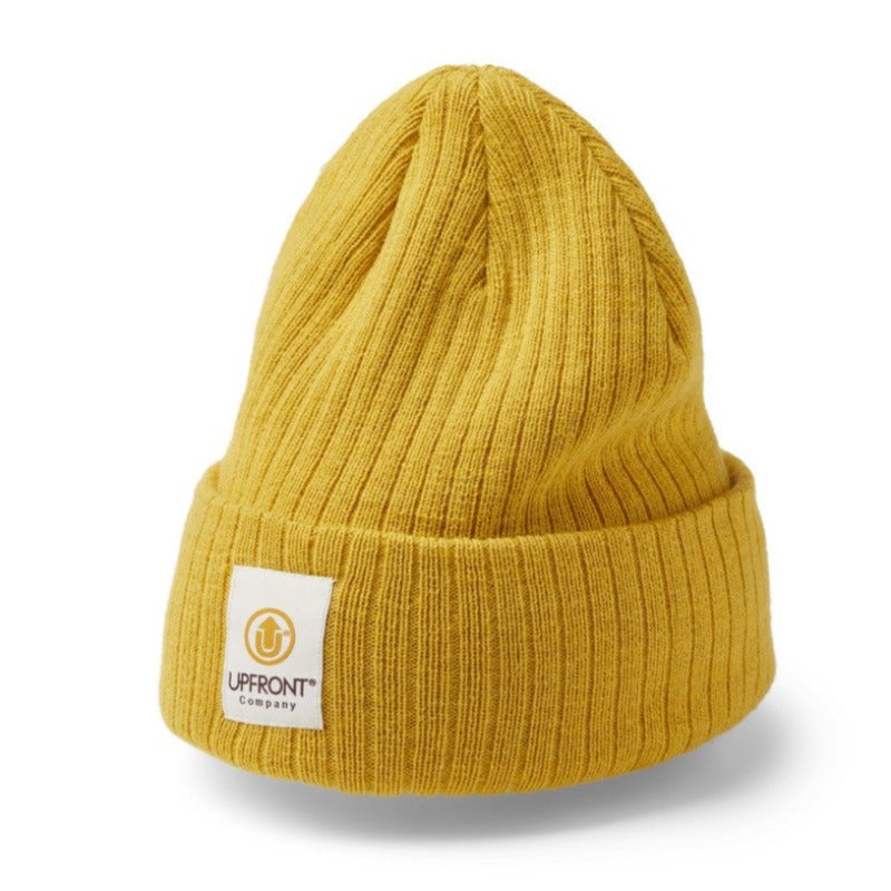 Upfront - Stranded Beanie - Yellow