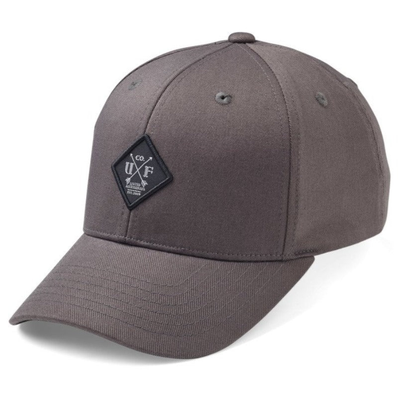 Upfront - Nobel Baseball Cap - Dark Grey