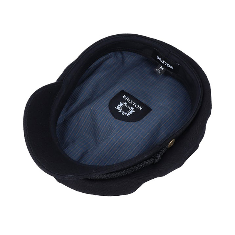 Brixton - Fiddler Sailor Cap - Black