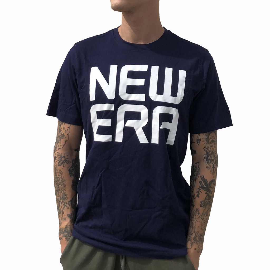 New Era - Basic Logo T-Shirt - Navy