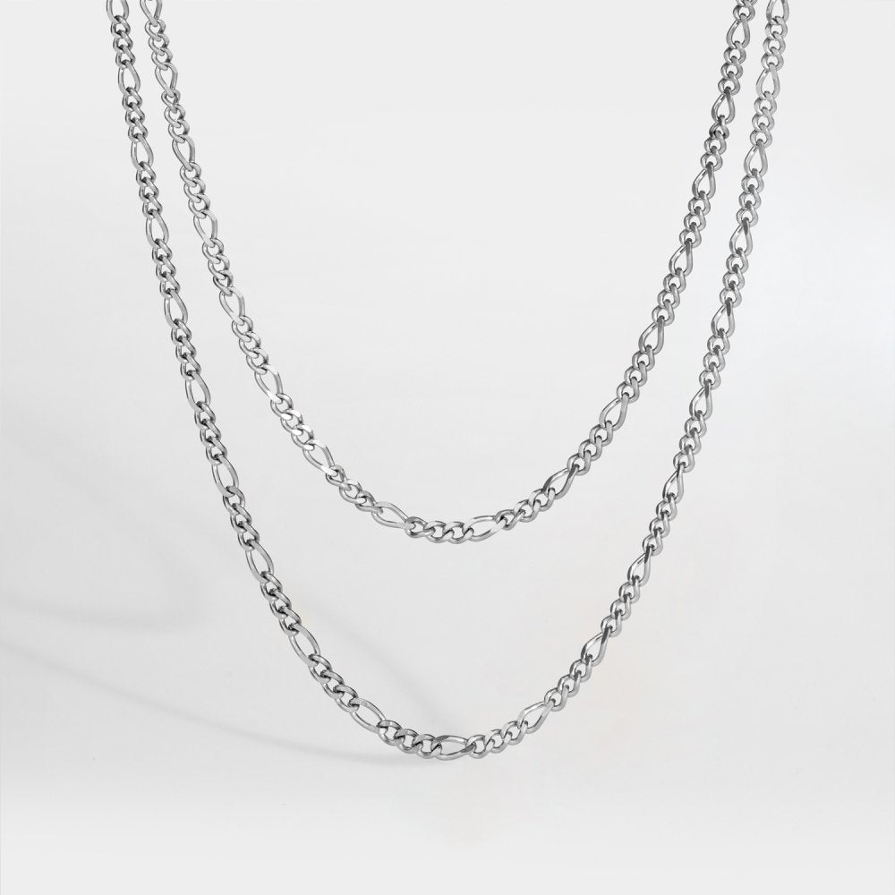 Northern Legacy - Double Antique Necklace - Silver
