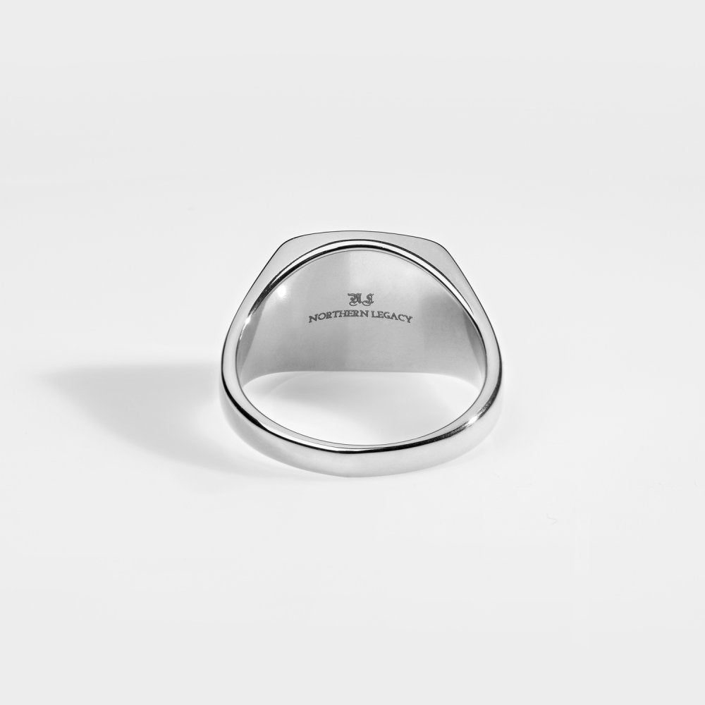 Northern Legacy - Compass Signature Ring - Silver