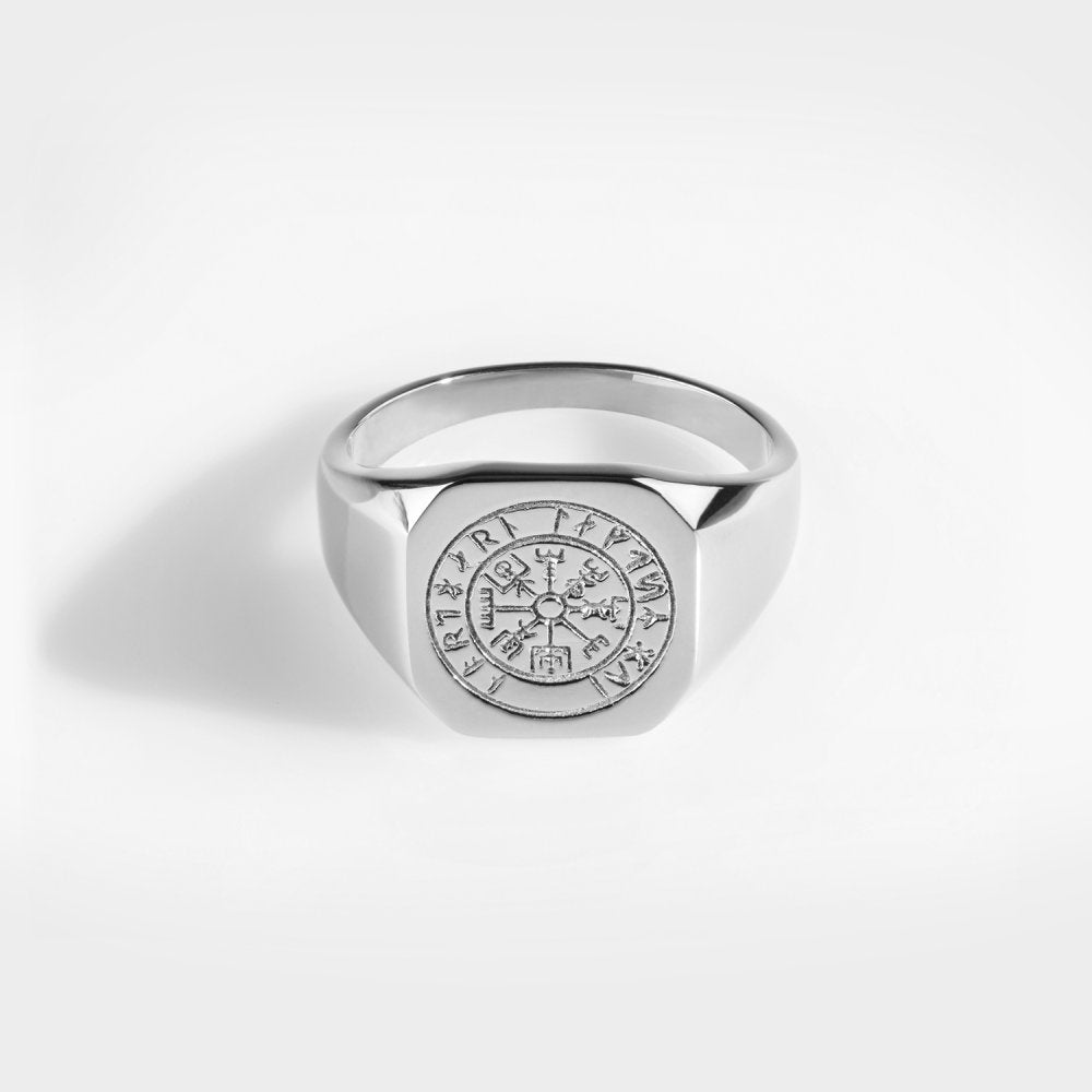 Northern Legacy - Vegvisir Signature Ring - Silver