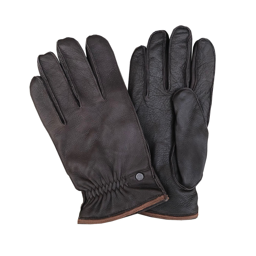 Pearlwood - Ben Deerskin Gloves - Brown