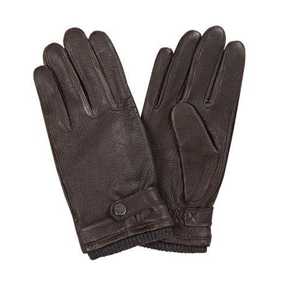 Pearlwood - Freddie Leather Gloves - Brown