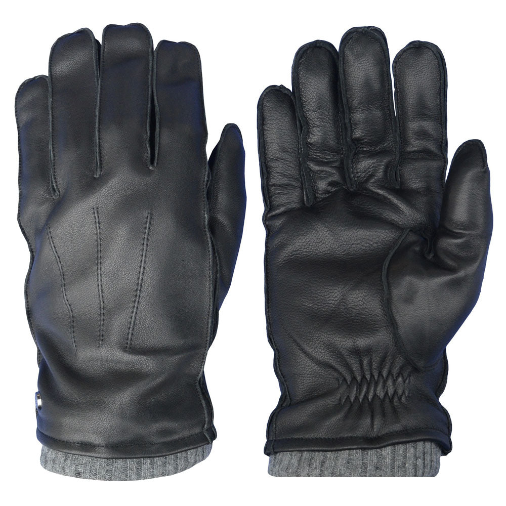 Pearlwood - Wilson Leather Gloves - Black