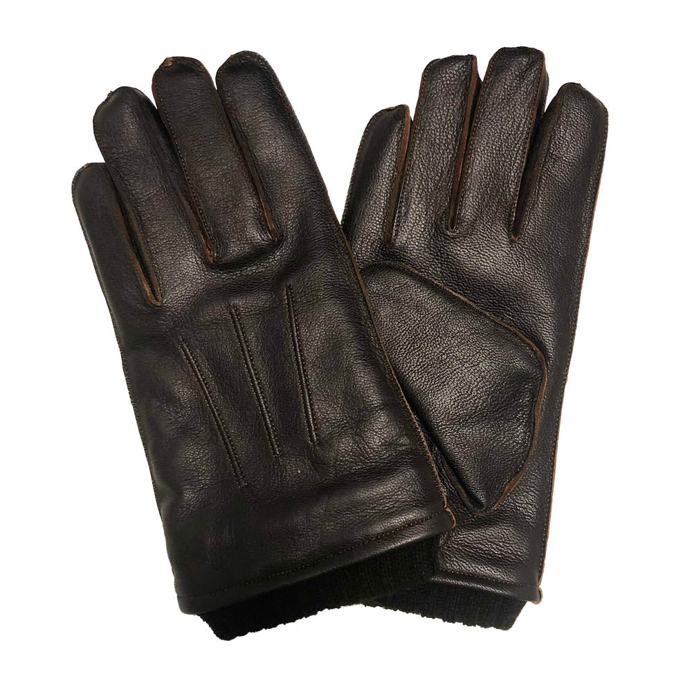 Pearlwood - Wilson Leather Gloves - Brown