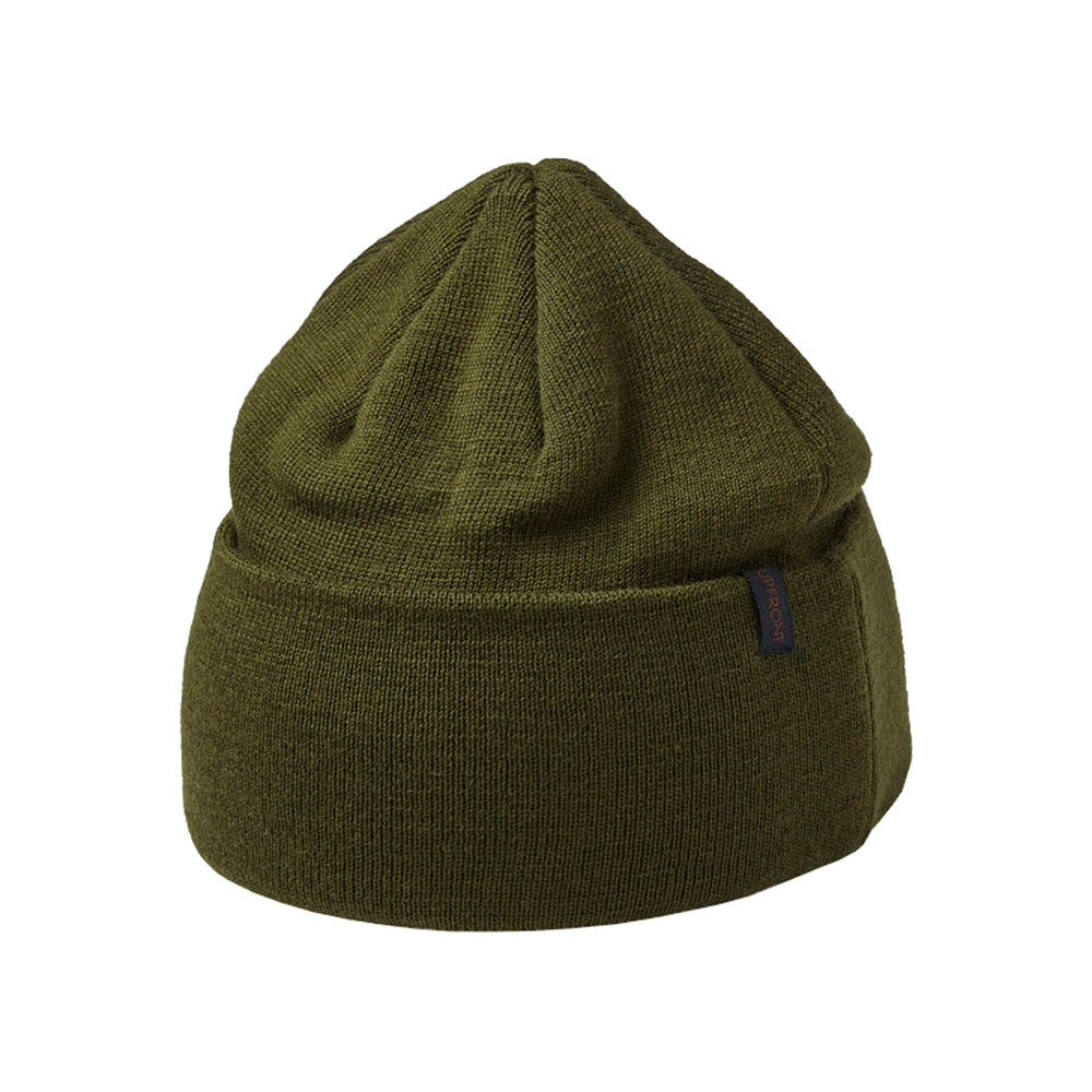 Upfront - Indie Fold Up Beanie - Olive
