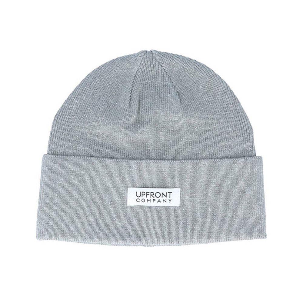 Upfront - Serious Fold Beanie - Heather Grey