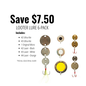 Looter Lure 6-pack Starter Bundle